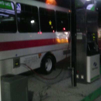 Photo taken at Valero by Beejay J. on 2/27/2012