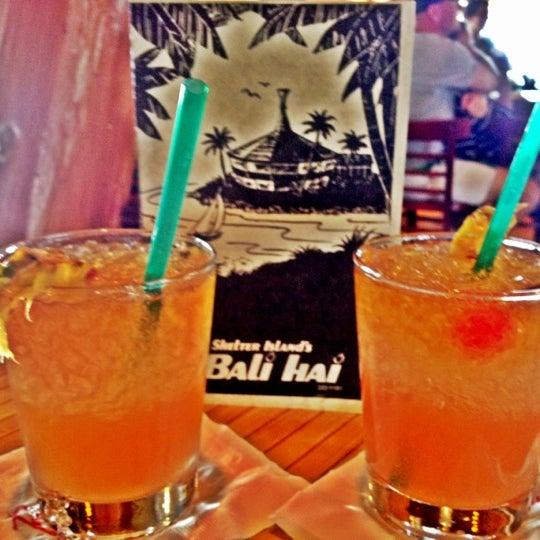 Photo taken at Bali Hai Restaurant by Heidi A. on 8/5/2012