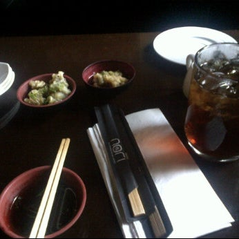 Photo taken at Nori The Japanese Kitchen Lounge by Handi G. on 3/21/2012