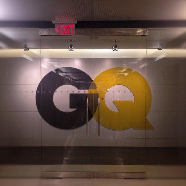 Photo taken at GQ Magazine by Garrett G. on 5/1/2012