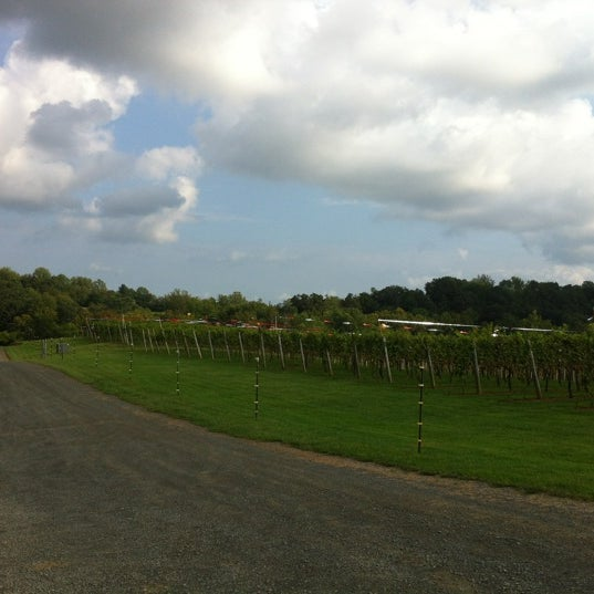 Photo taken at Three Fox Vineyards by Arianna on 9/6/2012