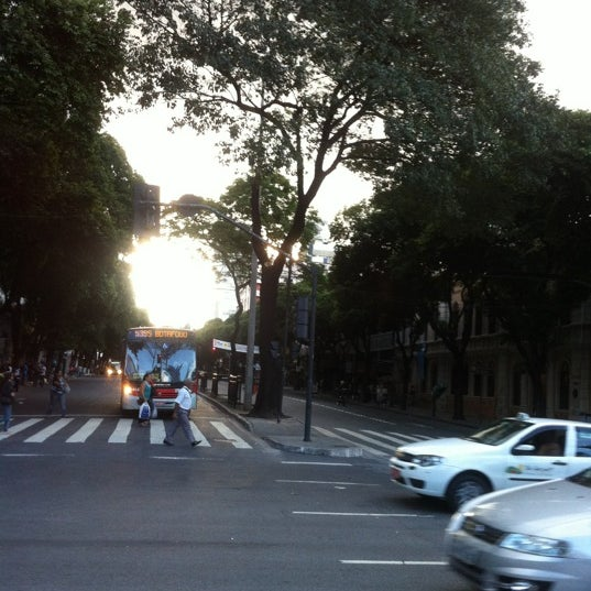Photo taken at Avenida Santos Dumont by Jorge T. on 5/5/2012