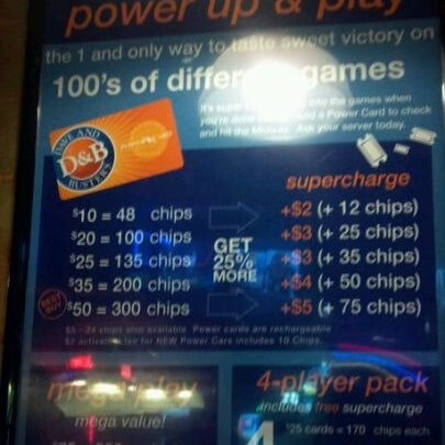 Photo taken at Dave & Buster's by Jenny P. on 7/12/2012