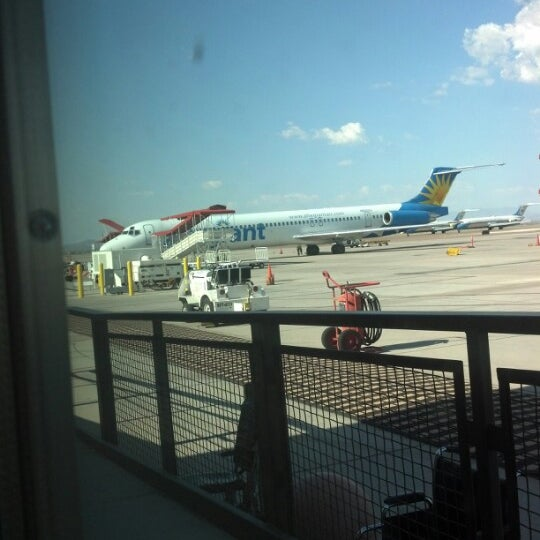 Photo taken at Phoenix-Mesa Gateway Airport (AZA) by Christopher W. on 8/9/2012