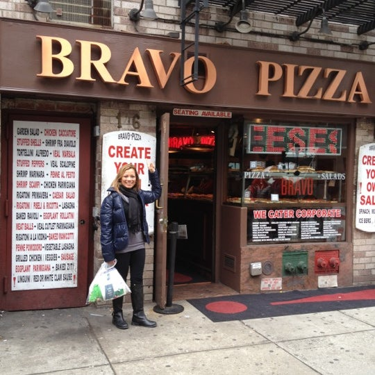 Photo taken at The Big Slice - 5th Ave by Keren A. on 3/16/2012