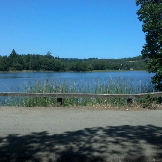 Photo taken at Lake Ilsanjo by Nate Z. on 5/29/2012