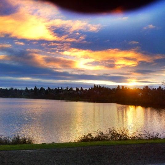 Photo taken at Green Lake Boathouse by Erik B. on 2/29/2012