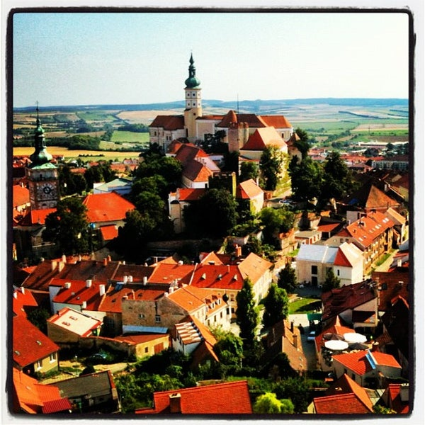 Photo taken at Zámek Mikulov by Roody102 on 7/23/2012