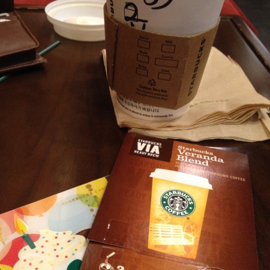 Photo taken at Starbucks by s.y p. on 9/4/2012
