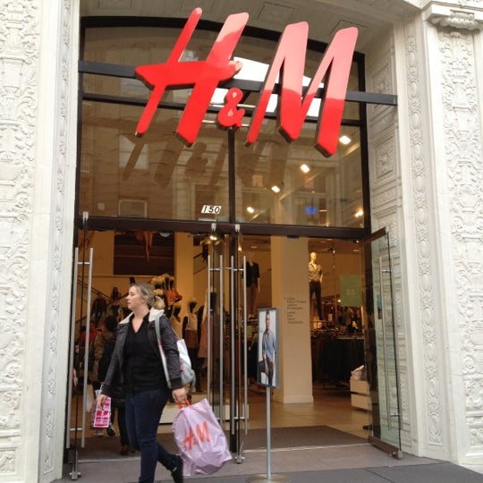 Photo taken at H&M by Lyra L. on 4/7/2012