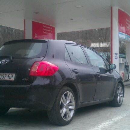 Photo taken at LukOil Straza by Stefan T. on 4/13/2012