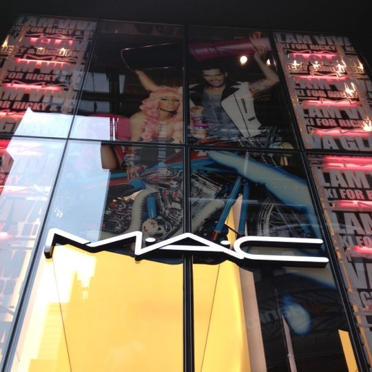 Photo taken at MAC Cosmetics by Natalie A. on 4/1/2012
