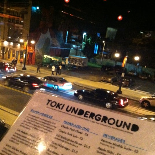 Photo taken at Toki Underground by Malia M. on 5/20/2012