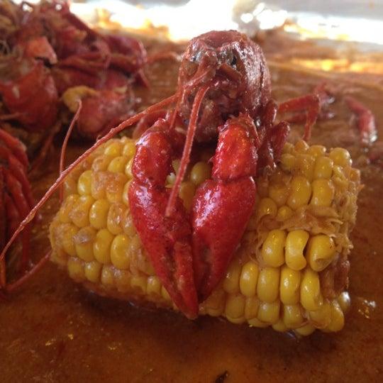 Photo taken at Hot N Juicy Crawfish by Diane L. on 4/29/2012