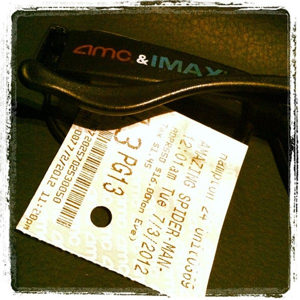 Photo taken at AMC Hampton Towne Centre 24 by Ferdinand T. on 7/3/2012