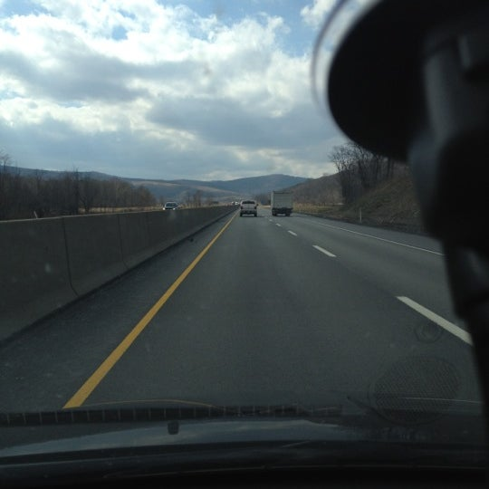 Photo taken at I-76 (PA Turnpike) by Daniel C. on 3/9/2012