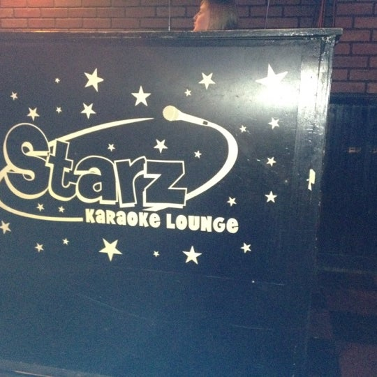 Photo taken at Starz Karaoke Lounge by Alesia P. on 8/18/2012
