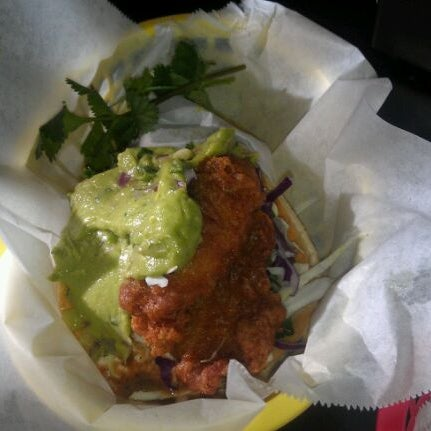 Photo taken at Nick's Crispy Tacos by Teri W. on 2/10/2012