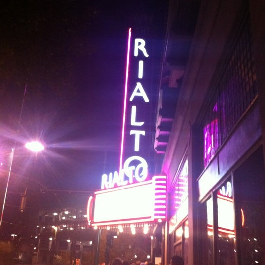 Photo taken at The Rialto Theatre by Kiko N. on 2/27/2012