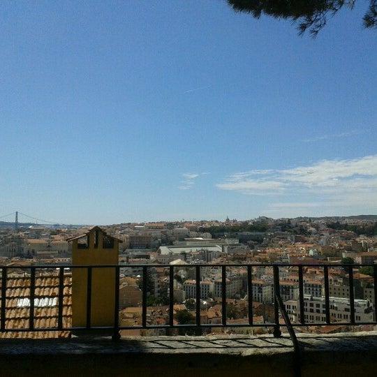 Photo taken at Miradouro Sophia de Mello Breyner Andresen by Antonio C. on 8/29/2012
