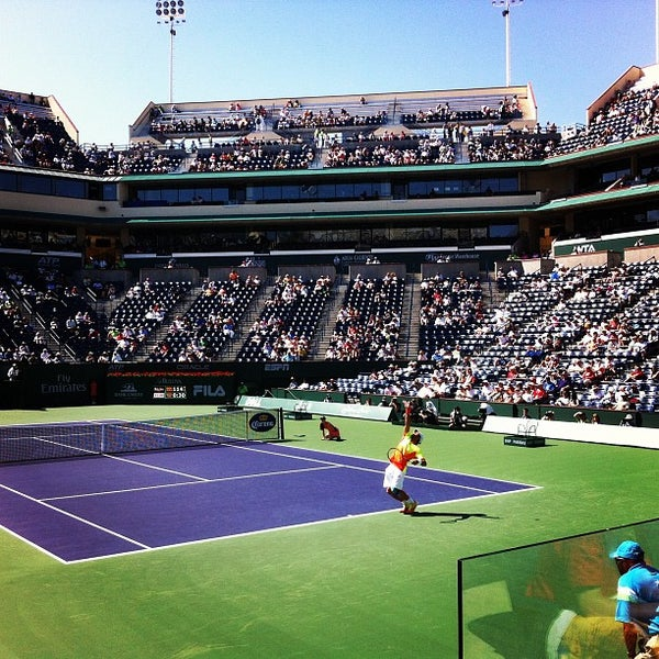 Photo taken at Indian Wells Tennis Garden by Jim L. on 3/13/2012