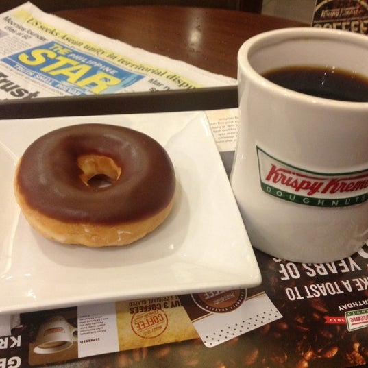 Photo taken at Krispy Kreme by Richard on 9/4/2012