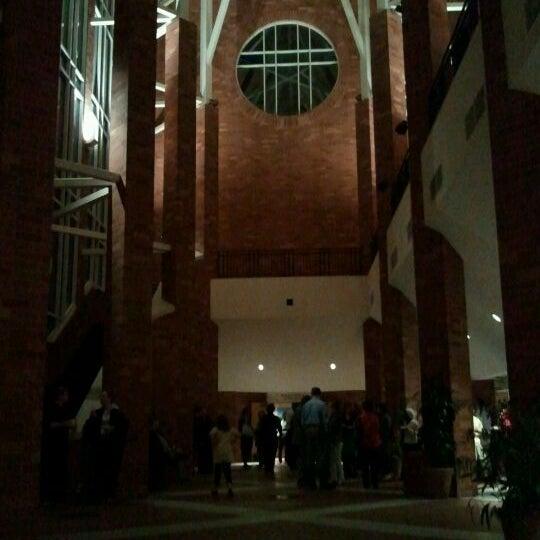 Photo taken at Catlett Music Center by jessica n. on 2/24/2012