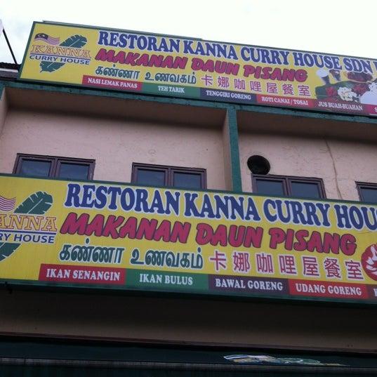 Kanna Curry House - 109, Jalan Gasing, Seksyen 10