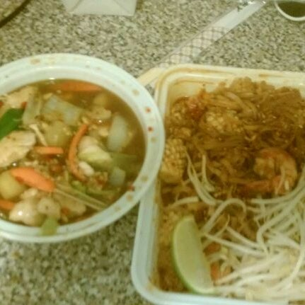 Photo taken at Pam Real Thai by Wilber V. on 5/9/2012