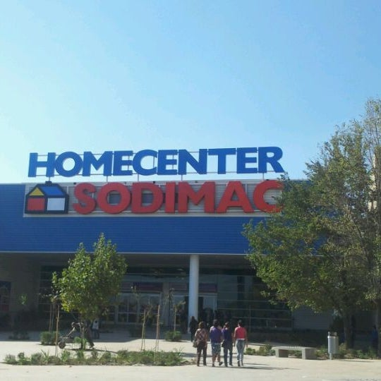 Homecenter sodimac hardware store in puente alto for Homecenter sodimac terrazas
