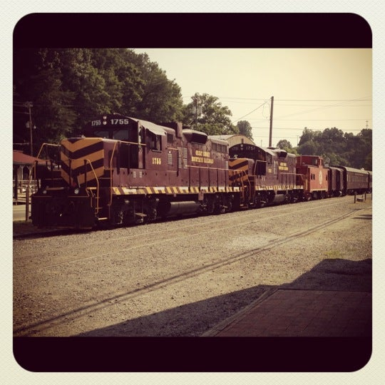 Photo taken at Great Smoky Mountain Railroad by Frank R. on 7/4/2012