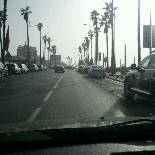 Photo taken at La Corniche de Casablanca by Mehdi D. on 7/30/2012