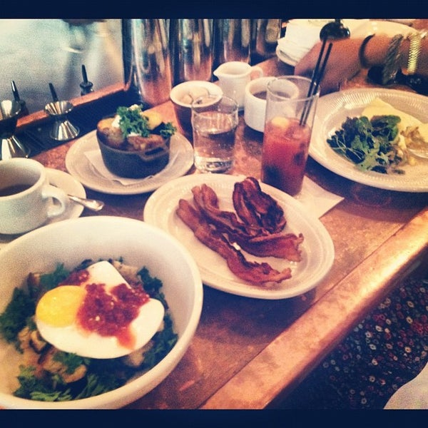 Photo taken at Vinegar Hill House by Evan D. on 7/8/2012