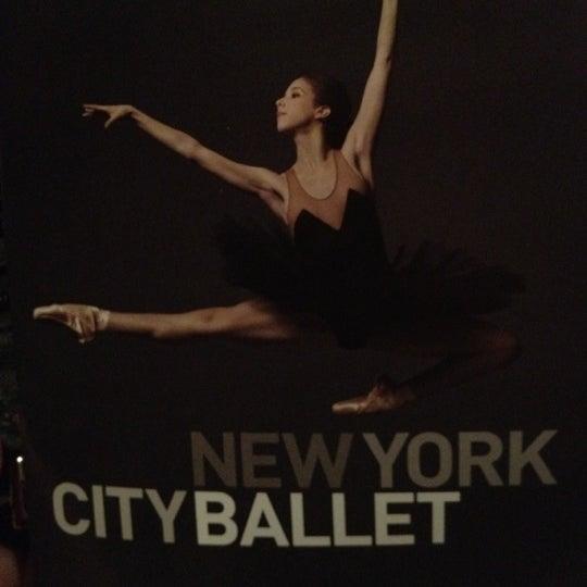 Photo taken at New York City Ballet by Ana Beatriz M. on 2/17/2012