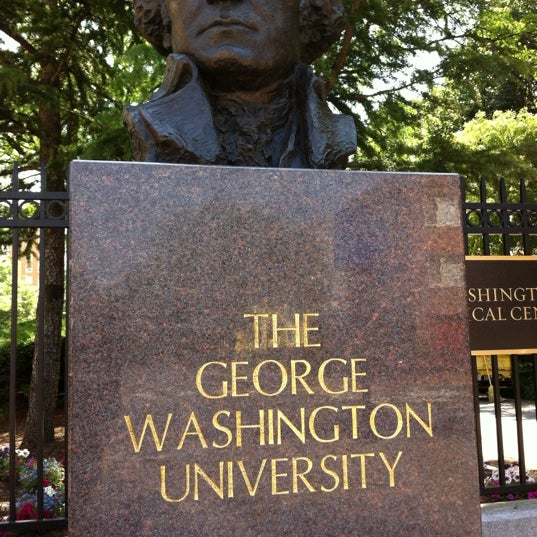 Photo taken at The George Washington University by Jo E. on 5/29/2012