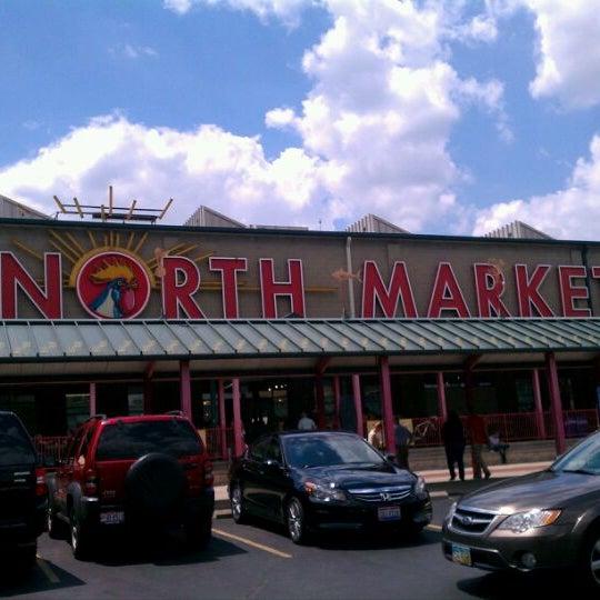 Photo taken at North Market by Nich on 6/2/2012