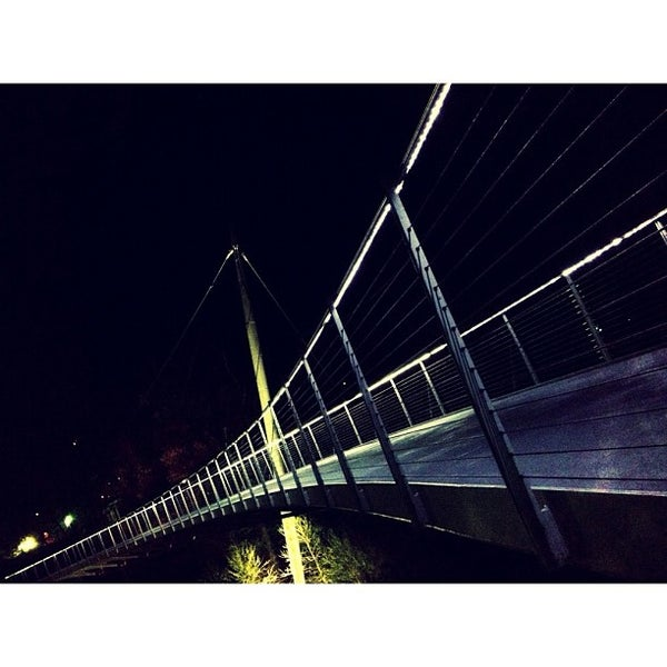Photo taken at Liberty Bridge by Josh M. on 3/30/2012