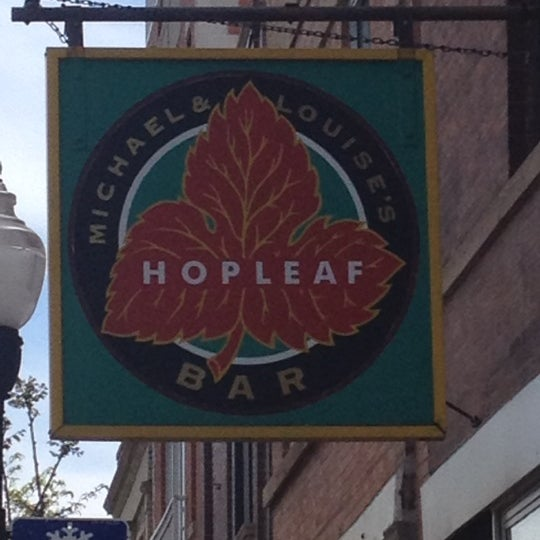 Photo taken at Hopleaf Bar by Erin M. on 4/22/2012