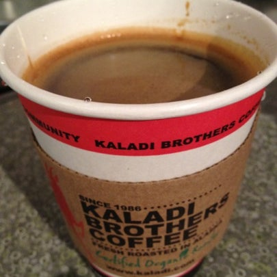 Photo taken at Kaladi Brothers Coffee by Gary M. on 7/21/2012