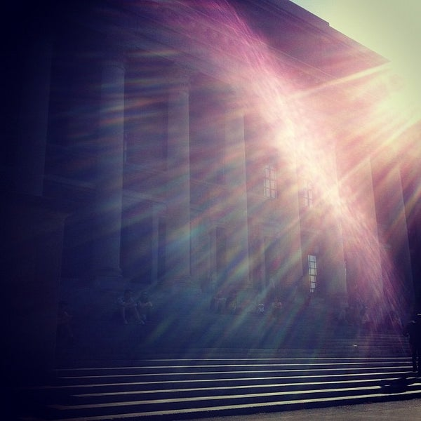Photo taken at Widener Library by Peter B. on 5/12/2012