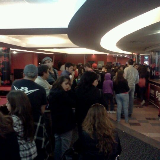Photo taken at Cine Hoyts by Cristian A. on 5/1/2012