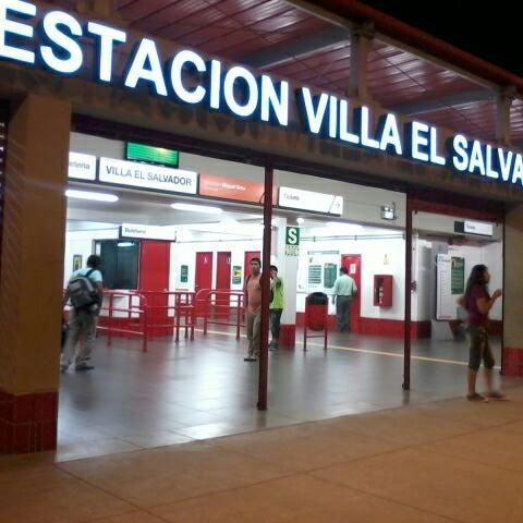 Estacion parque industrial villa el salvador light for Parque industrial villa el salvador muebles
