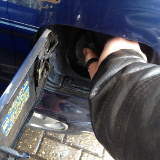 Photo taken at Sainsburys Petrol Station by Grace S. on 4/25/2012