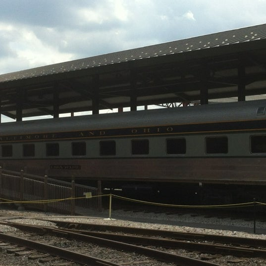 Photo taken at B & O Railroad Museum by Carlee S. on 6/14/2012
