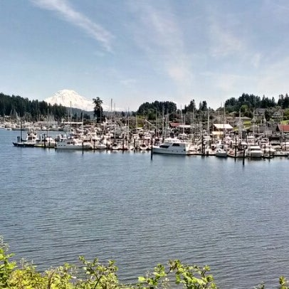 Photo taken at Gig Harbor Waterfront by Cecilia T. on 6/11/2012