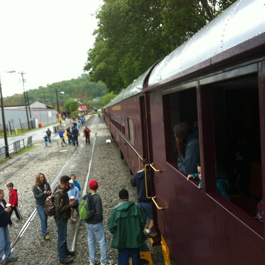 Photo taken at Great Smoky Mountain Railroad by Jeremy G. on 4/26/2012