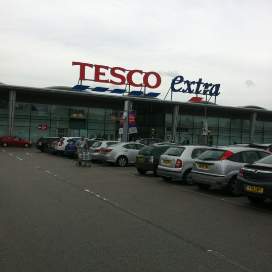 Photo taken at Tesco by Marisa on 9/1/2012