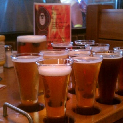 Photo taken at Fat Head's Brewery & Saloon by Michael F. on 6/9/2012