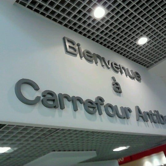 centre commercial antibes carrefour grocery store in antibes. Black Bedroom Furniture Sets. Home Design Ideas