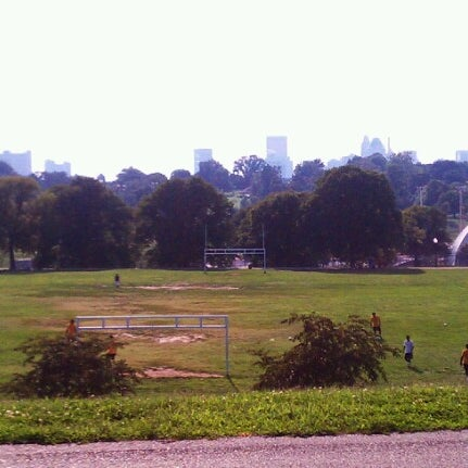 Photo taken at Patterson Park by julio c. on 8/22/2012